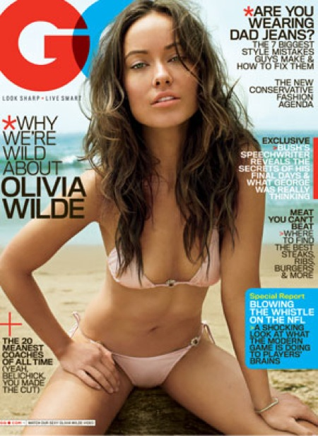 olivia wilde gq. Olivia Wilde GQ October 2009: