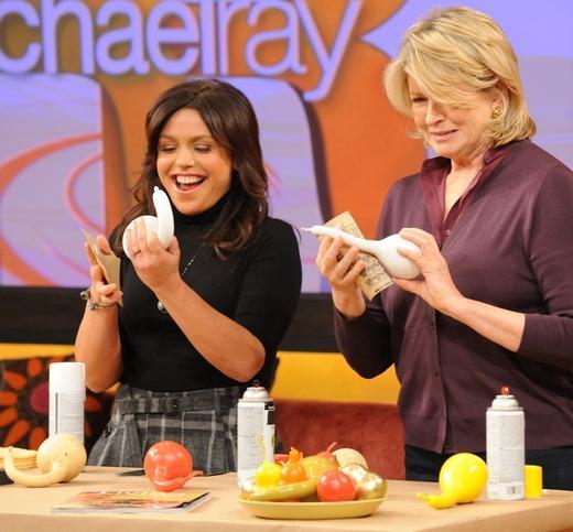 Martha Stewart on Rachael Ray Show