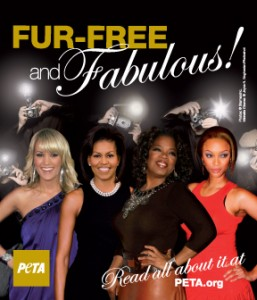 DC Fur Free Metro PETA Ad