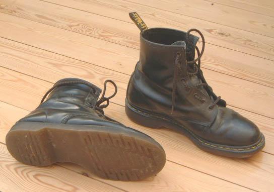 Black Martens Shoes