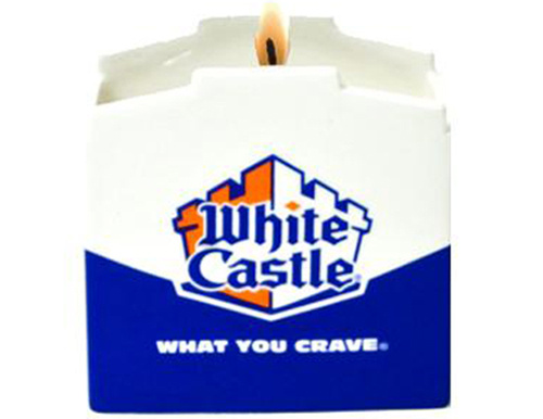 White Castle Candle
