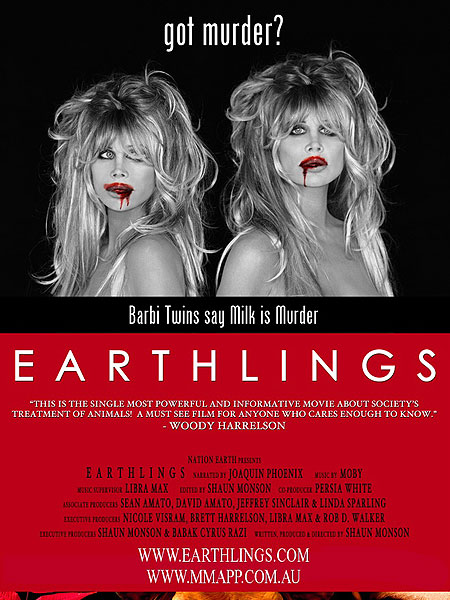 """Earthlings"" Barbi Twins"