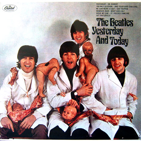 "Beatles ""Yesterday and Today"" album cover"