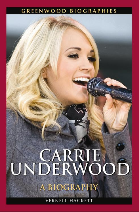 """Vegetarian Star""""Carrie Underwood: A Biography"""" Author"""