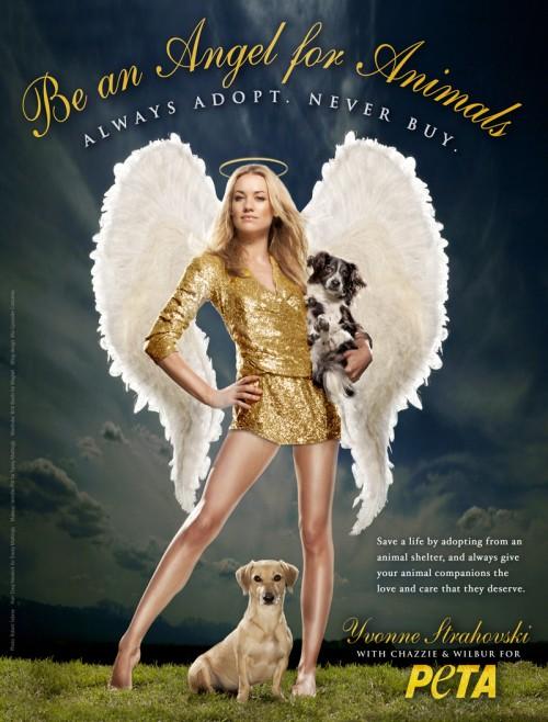 Yvonne Strahovski PETA Ad 500x6    Yvonne Strahovski