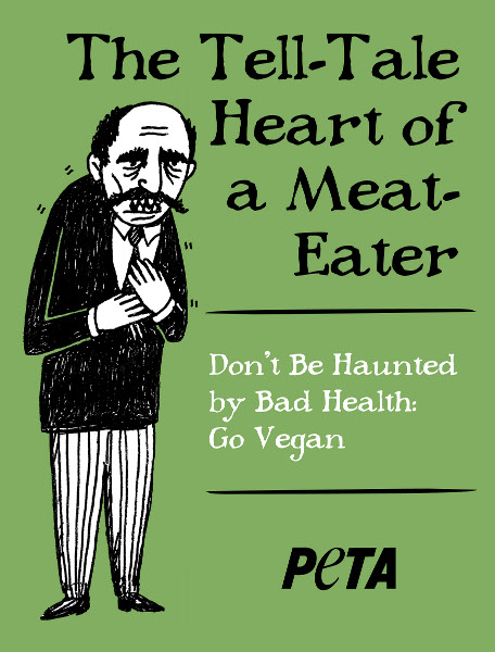 PETA Edgar Allan Poe
