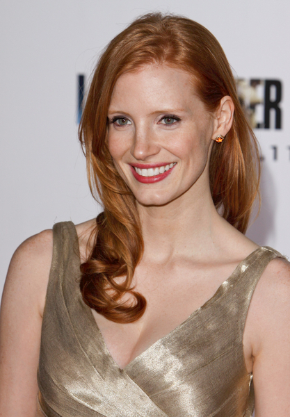 Jessica Chastain is the co-star of Brad Pitt and Sean Penn in the Cannes ...