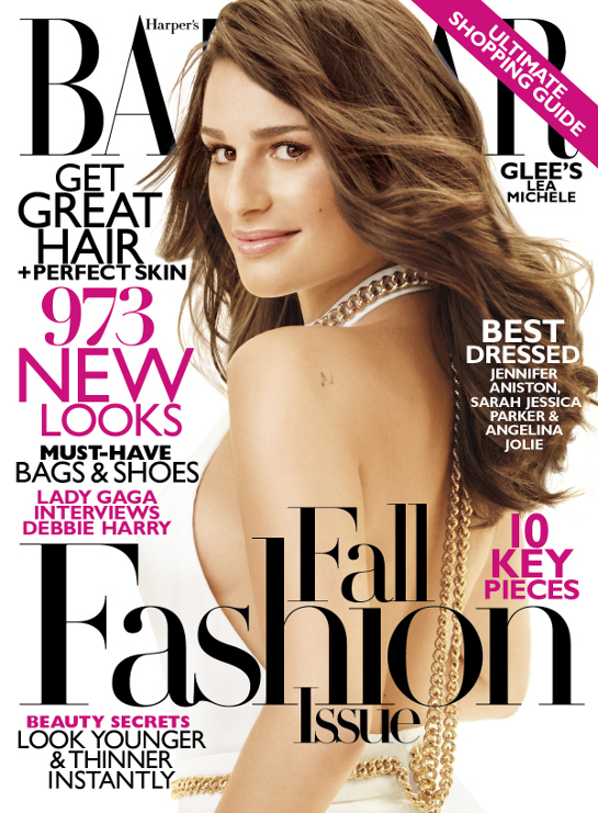 Lea-Michele-Harpers-Bazaar-Cover