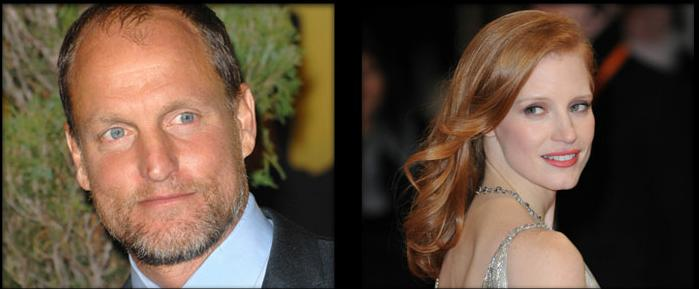 Woody Harrelson Jessica Chastain
