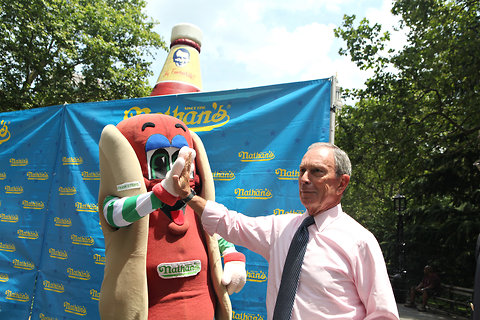 Bloomberg Nathan's Contest