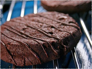 Liz Lovely Gluten-Free Triple Chocolate Mint Cookies