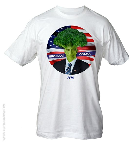 Broccoli Obama Shirt