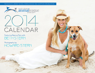 Beth Stern North Shore Animal League Calendar