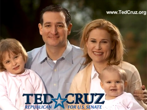 Ted Cruz Family
