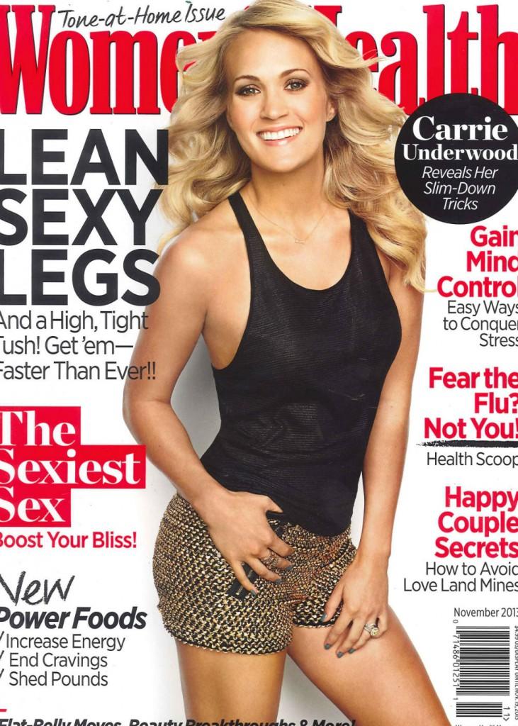 Carrie Underwood Women's Health