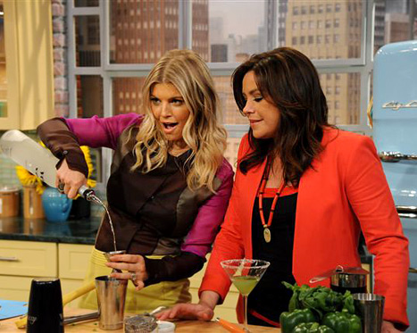 Fergie on Rachael Ray