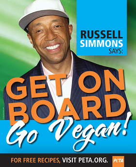 Russell Simmons PETA DC