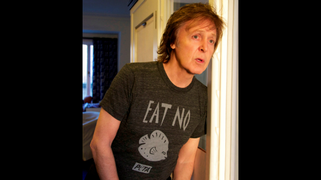 Paul McCartney PETA Fish