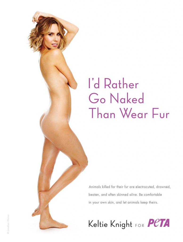 D rather go naked than wear fur