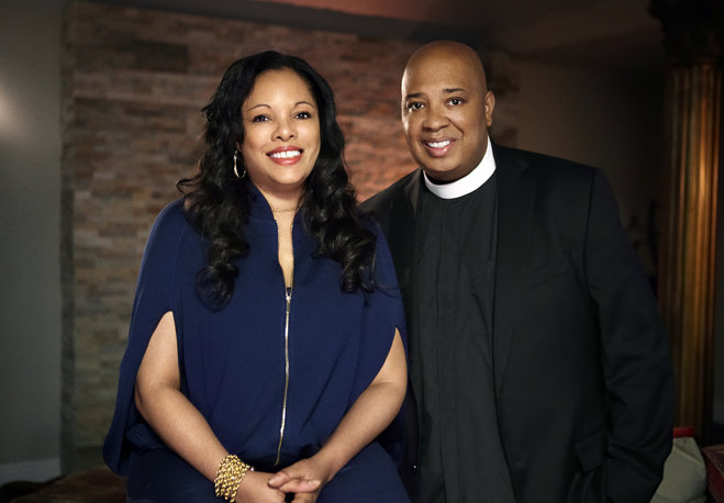 Rev Run and Justine Simmons