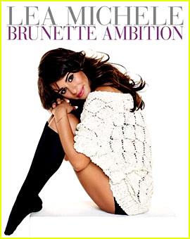 Lea Michele Brunette Ambition